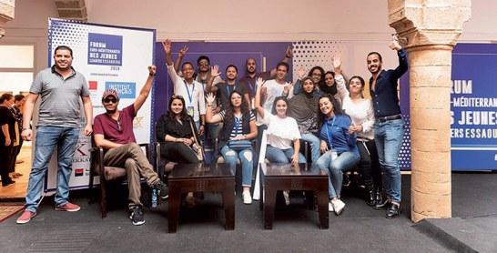 5e Forum euro-méditerranéen  des jeunes leaders à Essaouira
