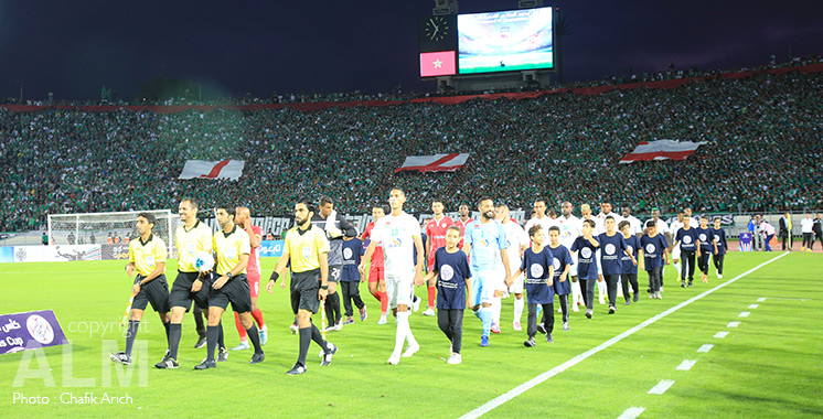 Coupe arabe Mohammed VI des clubs : Le Raja et le Wydad se quittent dos à dos