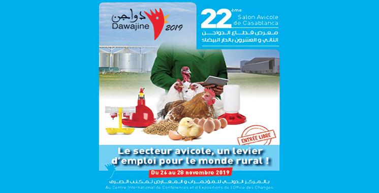 Aviculture : Le Groupe OCP présent au Salon Dawajine