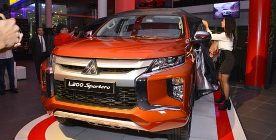 Diamond Motors dévoile et commercialise le nouveau Mitsubishi L200
