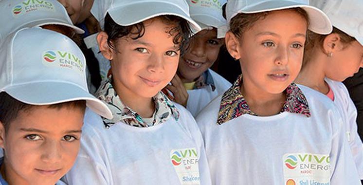 Journée mondiale de l'enfance : Vivo Energy Maroc met en place une école de réinsertion scolaire à Casablanca
