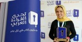 Fatimazahra Akhiar au sprint  final de l'Arab Reading Challenge