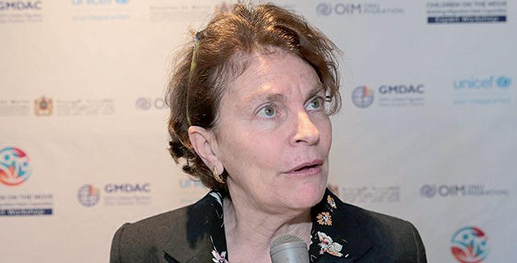 Giovanna Barberis «La mise en œuvre effective de la politique intégrée de la protection de l'enfance pourrait être accélérée»