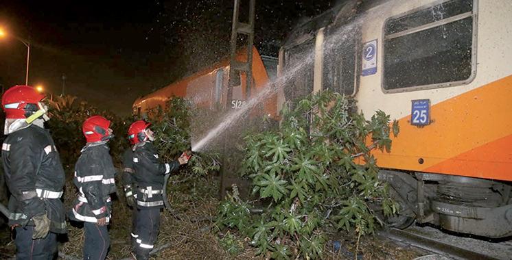 Marrakech-Tanger : Un train contraint de s'arrêter