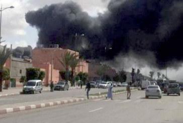 Dix arrestations dans un incendie prémédité à Laâyoune