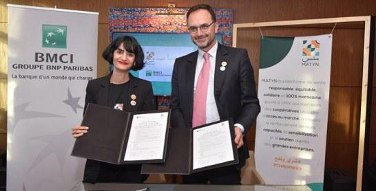 Première entreprise à accueillir ce concept : Le souk solidaire de Matyn lancé de la BMCI
