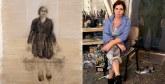 Les œuvres de Amina Rezki à la galerie Thema de Casablanca