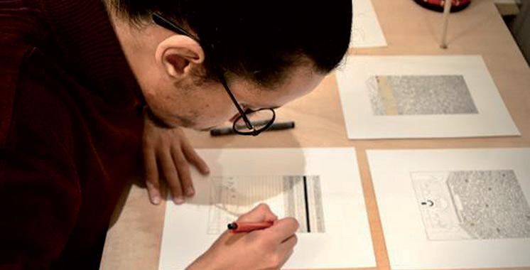 Les travaux de Mohamed Haïti au MACAAL à Marrakech