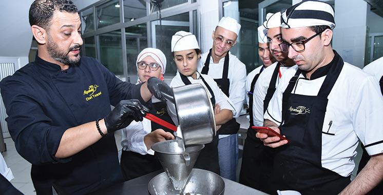 Aiguebelle et l'OFPPT lancent à M'diq une formation pour les futurs chefs pâtissiers