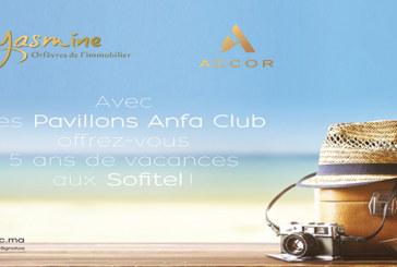 Yasmine immobilier et Accor scellent un partenariat : Des vacances offertes aux nouveaux acquéreurs des Pavillons Anfa Club