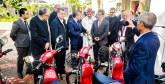 Projets verts «Rhamna E-Mob» : 30 motos électriques remises  aux autorités locales