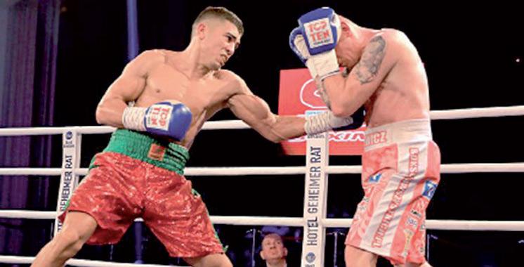 Boxe : Mohamed Rabii domine  le Mexicain Jesus Gurrola
