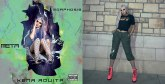 Dans son nouveau clip : Xena Aouita illustre dans «Metamorph» la transformation humaine