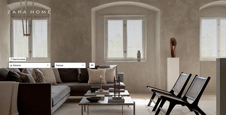 E-commerce : Zara Home lance  sa boutique en ligne au Maroc