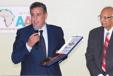 Akhannouch reçoit la médaille de l'Union internationale des sciences du sol