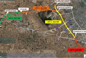 Le projet d'élargissement à 2×3 voies de l'autoroute Casablanca-Berrechid avance à grands pas