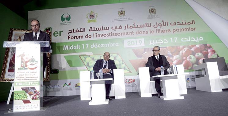 Midelt à l'heure du 1er forum de l'investissement dans la filière pommier