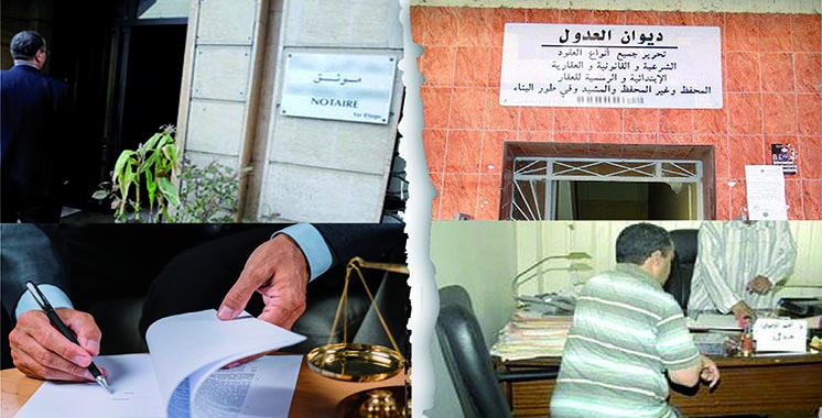 Guerre entre les adouls et les notaires : Le Conseil national de l'Ordre des notaires appelle à l'arbitrage de l'État