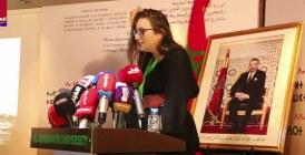 En ouverture de la 3ème université d'hiver : Arij Menjouri parle au nom des jeunes MRE