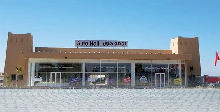 Auto Hall : les unités écoulées ont progressé de près de 1%