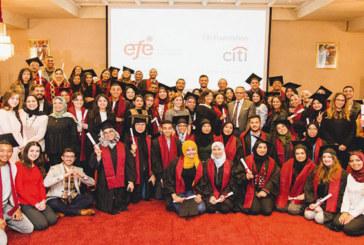 Insertion professionnelle : 6 ans déjà entre l'EFE et la Fondation Citi