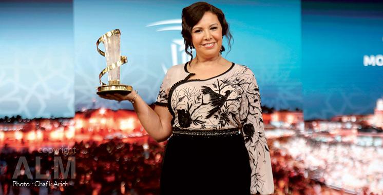 18ème Festival international du film de Marrakech : Mouna Fettou dédie son hommage à son fils