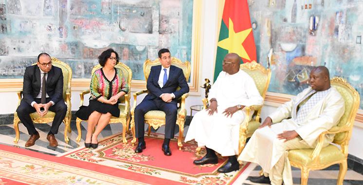 Latifa Akharbach reçue par le président Christian Kaboré