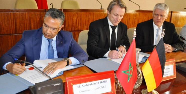 ONEE-Kfw : De nouveaux  contrats de financement de plus  de 55 millions d'euros