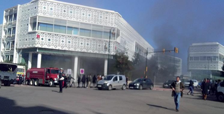 Incendie à Arribat Center : Aucun dégât n'est à signaler