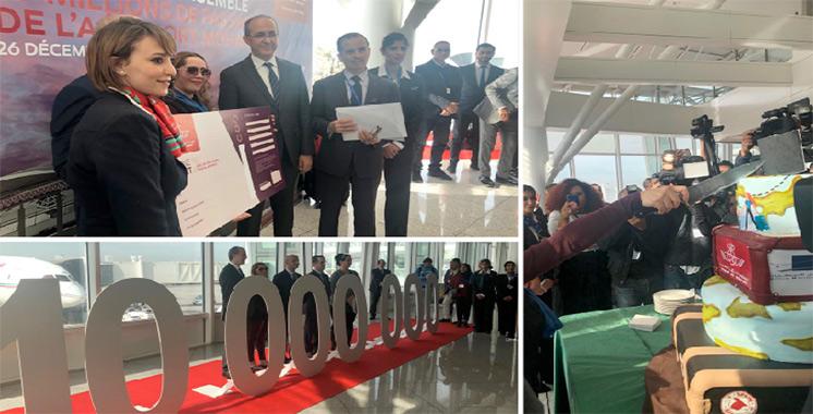 Célébration : L'aéroport Mohammed V reçoit son dix millionième passager