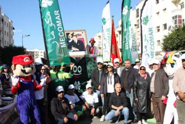 Dans le cadre de son action de sensibilisation : Mécomar organise un carnaval  de l'environnement à Témara