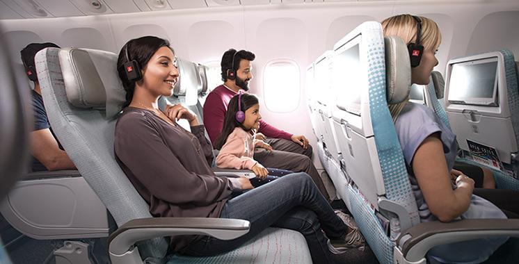 Système de divertissement à bord : 75%  des passagers d'Emirates sont satisfaits