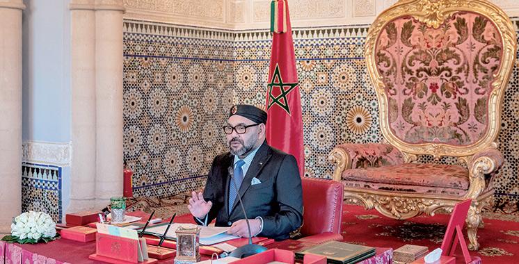 Présidé par SM le Roi : Adoption de plusieurs textes en Conseil des ministres