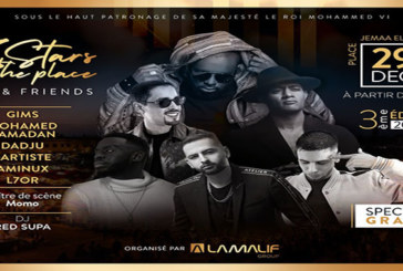 «Stars in The Place» offre un concert exceptionnel à Marrakech