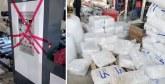 Saisie de plus de 11 tonnes de produits en plastique