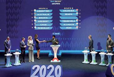 Tirage au sort : Argentine-Chili en ouverture de la Copa America 2020