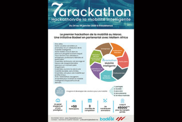 Inscrivez-vous à «7arackathon»  jusqu'au 10 janvier : Premier hackathon dédié à la mobilité intelligente au Maroc