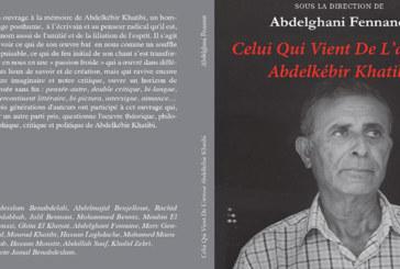 Parution de l'ouvrage «Celui qui vient de l'avenir, Abdelkébir Khatibi»