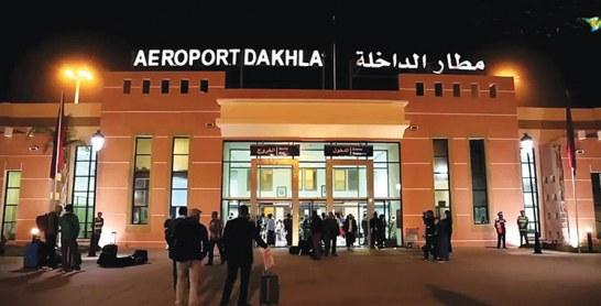 Hausse significative du trafic aérien  à l'aéroport de Dakhla
