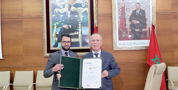 Remise de l'ISO 9001-2015 : La direction des mosquées est désormais certifiée