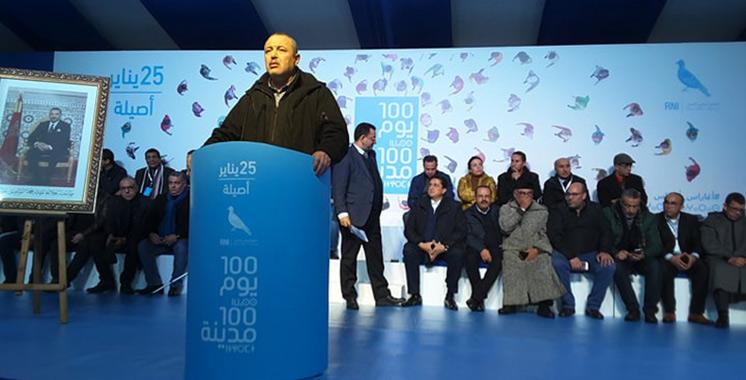 L'initiative «100 jours, 100 villes»  du RNI fait escale à Asilah