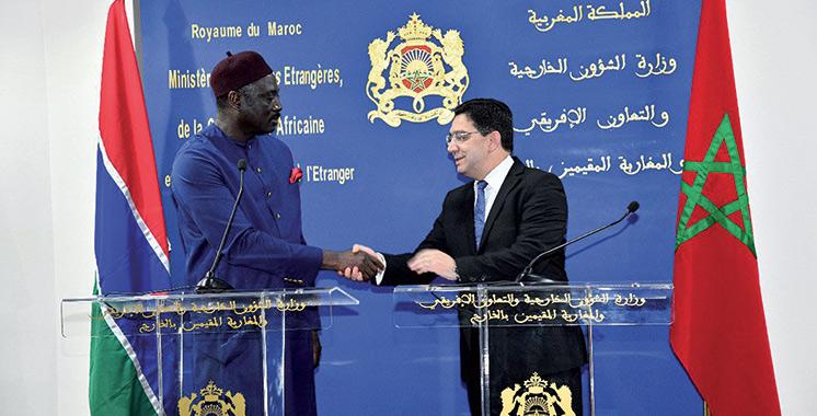 La Gambie ouvre ce mardi son consulat à Dakhla