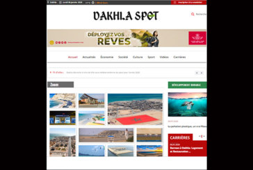 Dakhla Spot Online fait son entrée dans la sphère médiatique