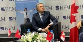 Activité culturelle : Le ministre des affaires  étrangères du Canada à HEM