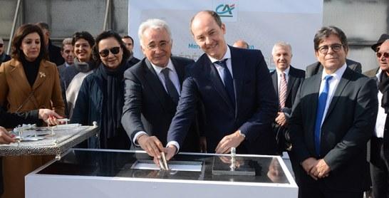 Le Crédit du Maroc lance  les travaux de son nouveau siège social