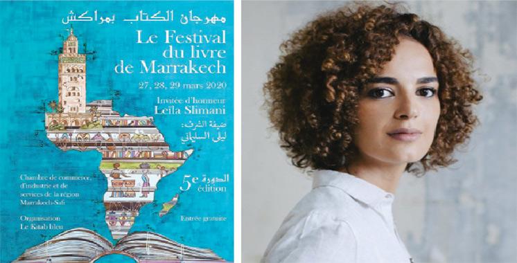 Festival du livre de Marrakech :  Leïla Slimani invitée d'honneur