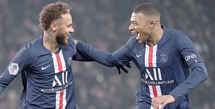 Football : Mbappé et Neymar joueurs les plus chers des clubs champions en Europe