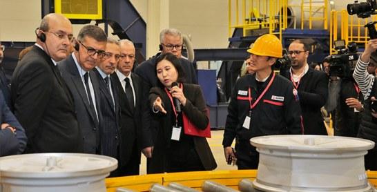 Automobile : L'équipementier Hands inaugure son site industriel à Tanger