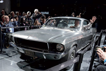 La Mustang conduite par Steve McQueen dans «Bullitt» vendue  3,7 millions de dollars