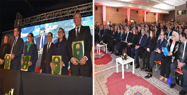 La grand-messe de l'architecture se poursuit à Tanger : Cinq conventions signées entre les architectes et leurs partenaires